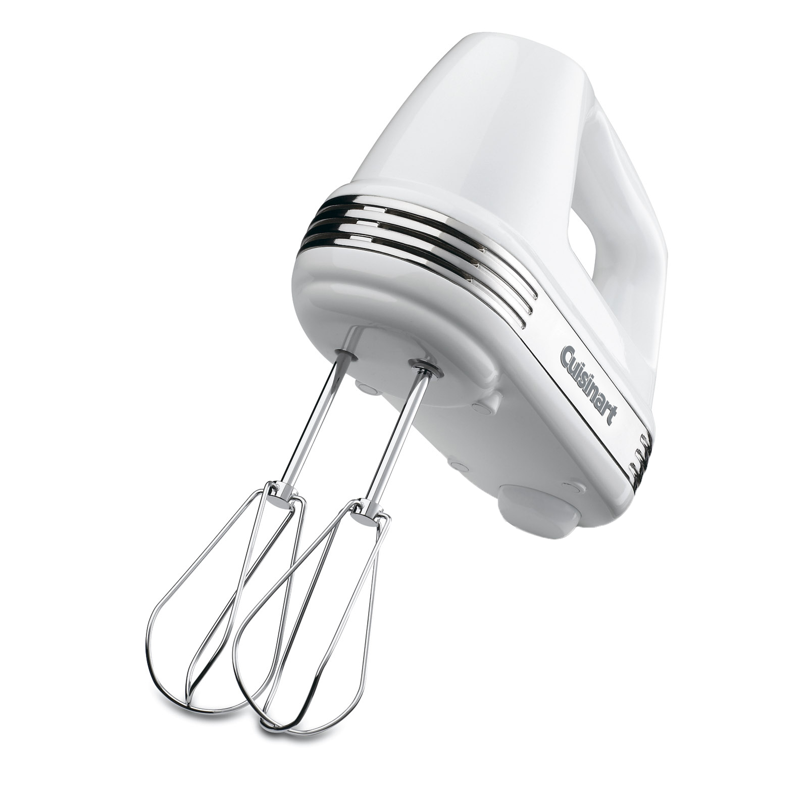 Cuisinart Power Advantage 5-Speed 220-Watt Hand Mixer, White