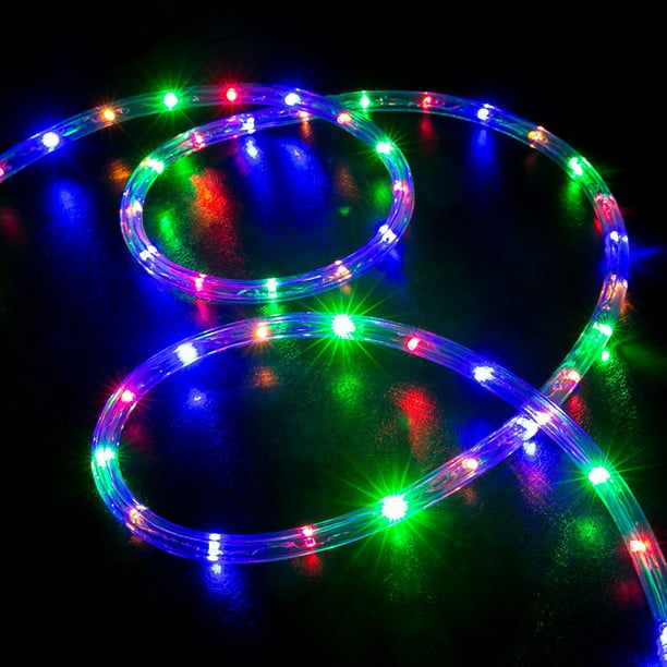30 Ft Led Rope Lights With Remote Xmas