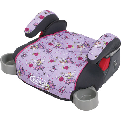 Graco Backless TurboBooster Booster Car Seat, Pixie