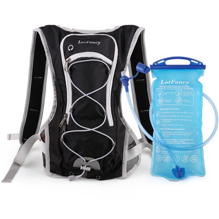 Hydration Pack with 2L 70oz Water Bladder Reservoir (BPA Free ... a0a3d08be2