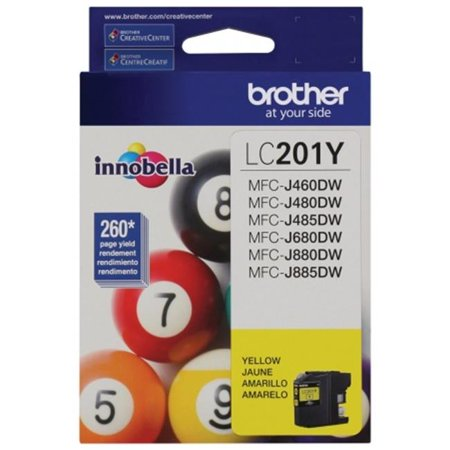 Innobella Standard Yield Yellow Ink Cartridge (Yields Approx. 260 Pages In (106r365 Black Fax Toner)