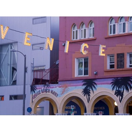 Downtown Venice Beach Los Angeles California United States Of America North