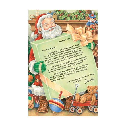 miles kimball letter from santa and ornament walmartcom With miles kimball letter from santa