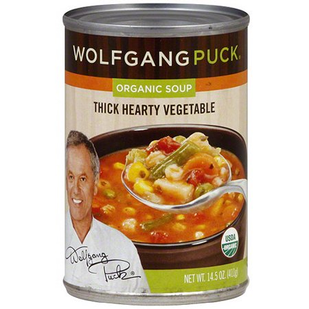 Wolfgang Puck Thick Hearty Organic Vegetable Soup, 14.5 oz (Pack of 12)