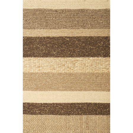 Image of Abacasa Atlas Stripe Natural 5' x 8' Rug