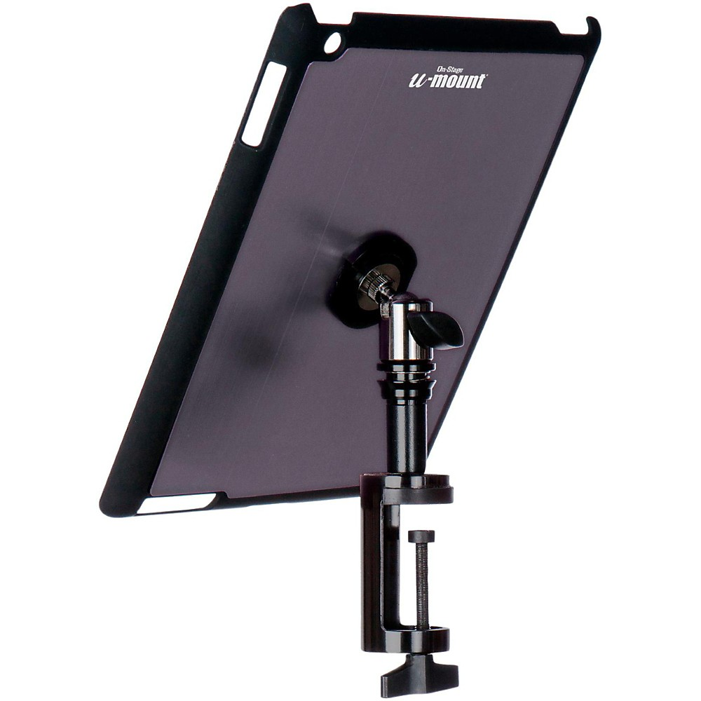 On Stage TCM9163 Quick Release Table Tablet Mount with Snap-On Cover for iPad