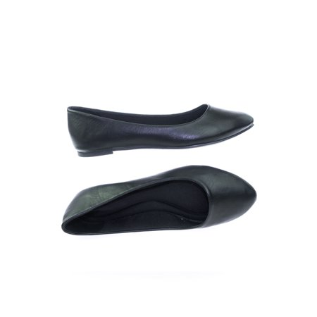 Redbud by Soda, Womens Almond Toe Ballet Flats w Comfortable Padded