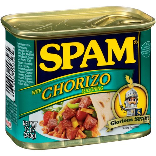 SPAM Canned Meat with Chorizo Seasoning, 12 oz Can
