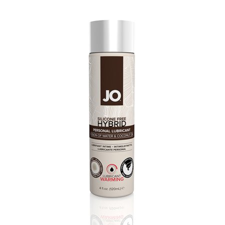 JO Silicone Free Warming Hybrid Water & Coconut Oil  Lubricant - 4 (Coconut Oil As A Lubricant For Intercourse)