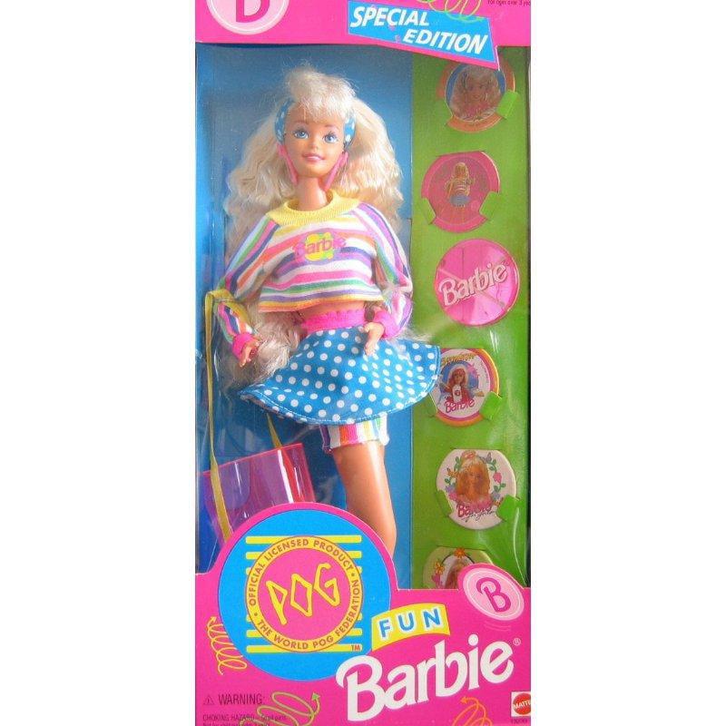 Mattel Special Edition POG Fun Barbie