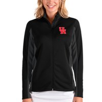 Houston Cougars Antigua Women's Passage Full-Zip Jacket - Black/Charcoal