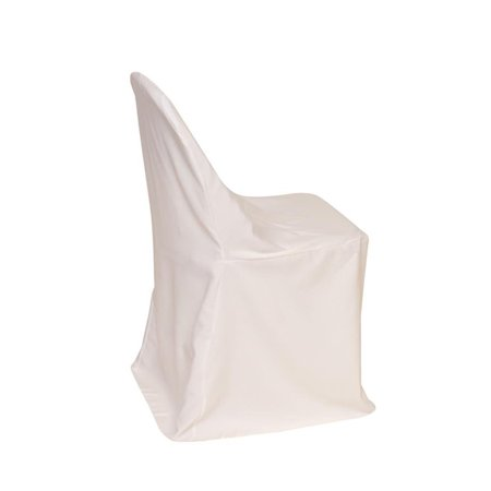 Amazing Your Chair Covers Polyester Folding Chair Cover White For Gmtry Best Dining Table And Chair Ideas Images Gmtryco