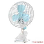 Homeholiday 2 Modes Plastic Metal Mesh Portable Household Slience Desktop Mini Fan with Oprerated Clip