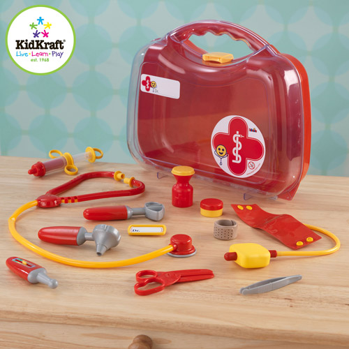 KidKraft Doctor's Kit Play Set with 12 Accessories