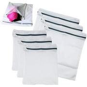 6 Pack Laundry Mesh Net Washing Bag Clothes bra sox Lingerie Socks Underwear