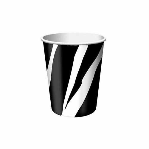 Zebra Print Cup by Creative Converting - 377223