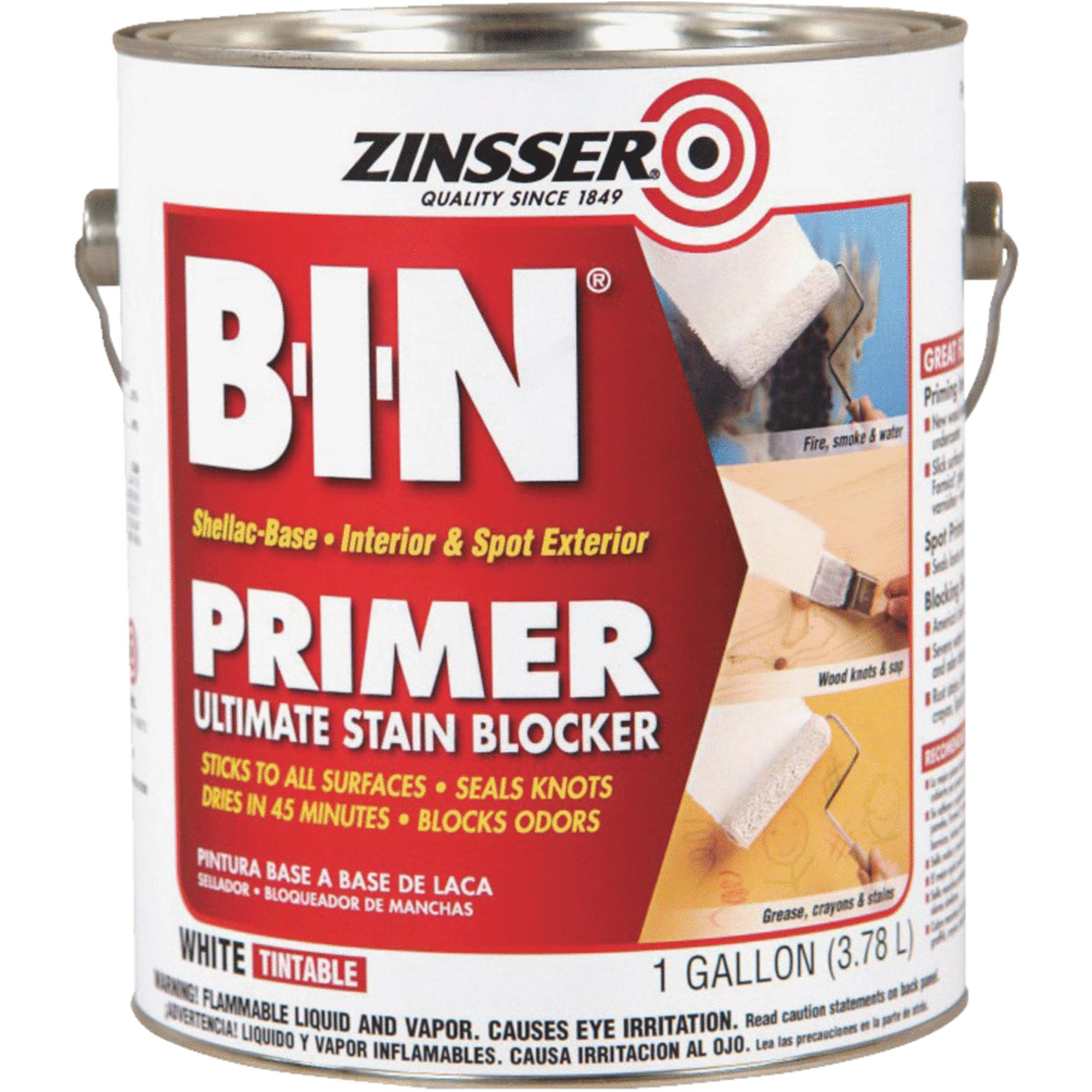 Zinsser 901 White Primer/Sealer Stain Killer, 1 gal.