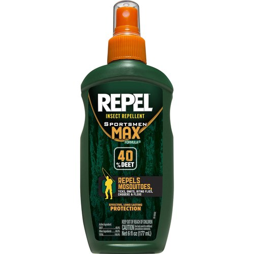 Repel Insect Repellent Sportsmen Max Formula Pump Spray with 40% DEET to Repel Mosquitoes by Spectrum Brands