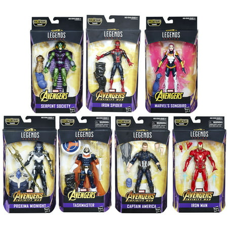 AVN AVENGERS 6 INCH LEGENDS AST