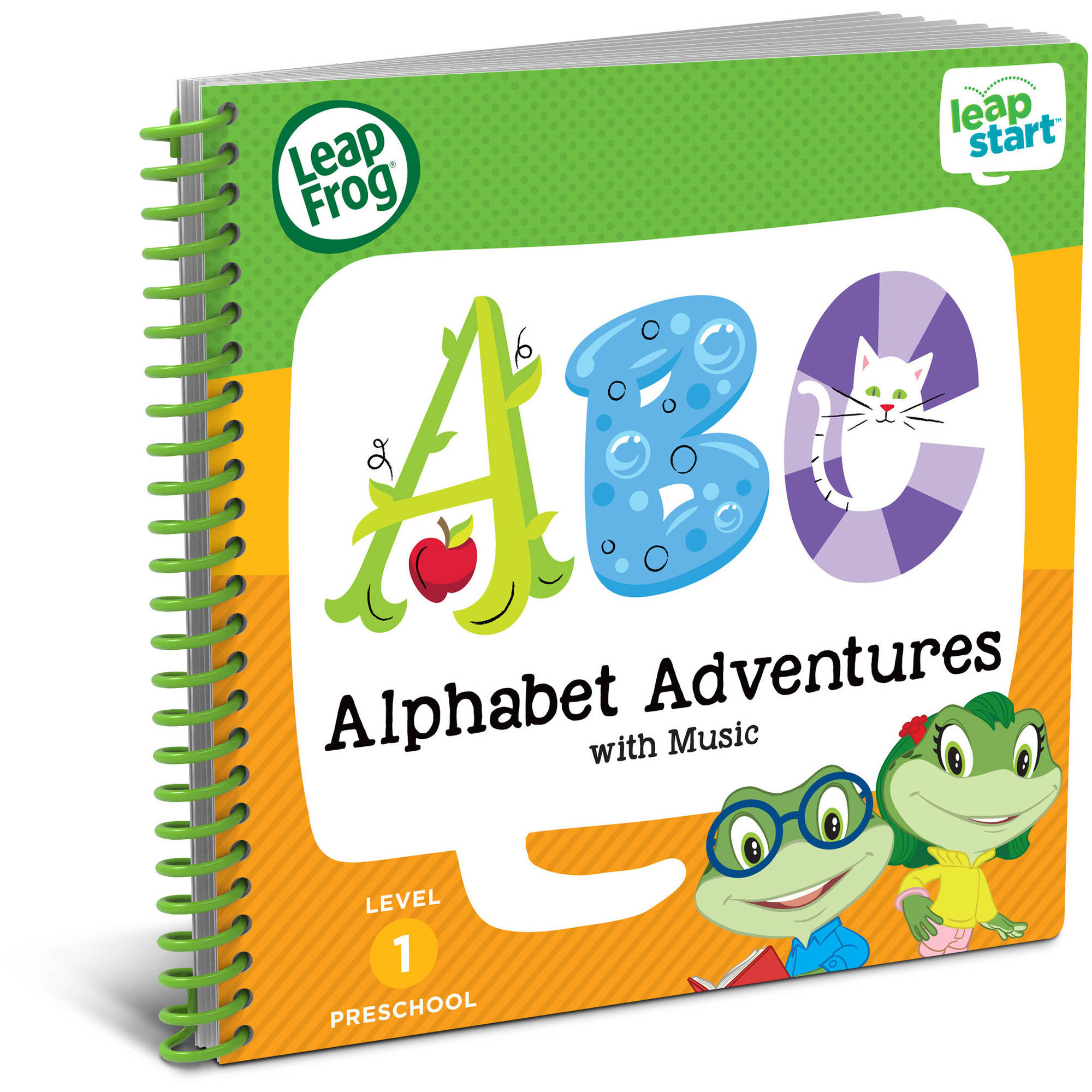 LeapFrog LeapStart Preschool Activity Book: Alphabet Adventures and Music by Generic