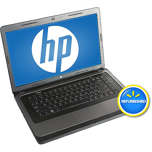 "HP Refurbished Black 15.6"" 2000-299WM Laptop PC with Intel Celeron T3500 Processor and Windows 7 Home Premium"