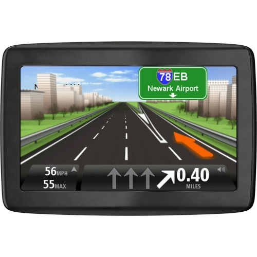 "TomTom VIA 1435TM Automobile Portable GPS Navigator - 4.3"" - Touchscreen - SD - Junction View, Lane Assist, Text-to-Speech, Address Voice Control, Voice Command, Speed Assist - Bluetooth - USB -"