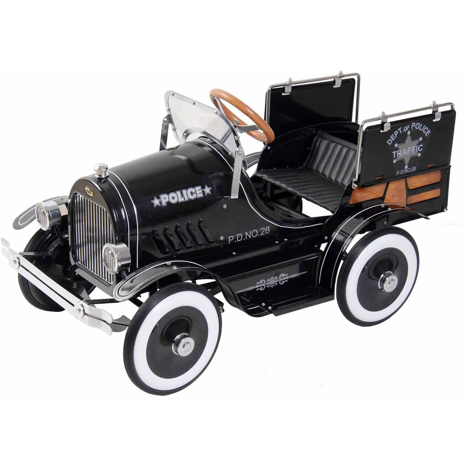 Deluxe Police Roadster Pedal Car