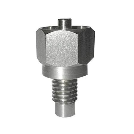 Threaded Drain Plug - ECO-PLUG - Oil Drain Plug for UNDAMAGED Aluminum Pan Threads Size 14mm X 1.50