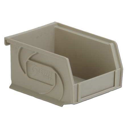 Lewisbins 15 lb Capacity, Hang and Stack Bin, Stone PB54-3 Stone 3 Stone Gold Foil