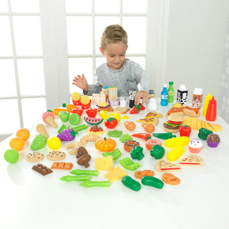 KidKraft Deluxe Tasty Treats Pretend Play Food ()