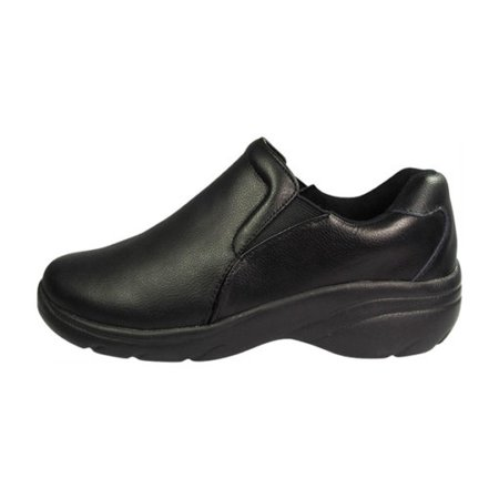 NATURAL UNIFORMS WOMENS SLIP-ON LEATHER NURSING (Best Nursing Shoes Skechers)