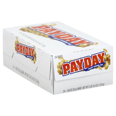 Candy Bark (Payday Bars - 24/1.85 oz.)