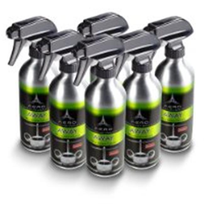 Aero 5695-6 16 Oz.  Away Non Toxic Degreaser & Cleaner, 6 Count, Aluminum Bottles