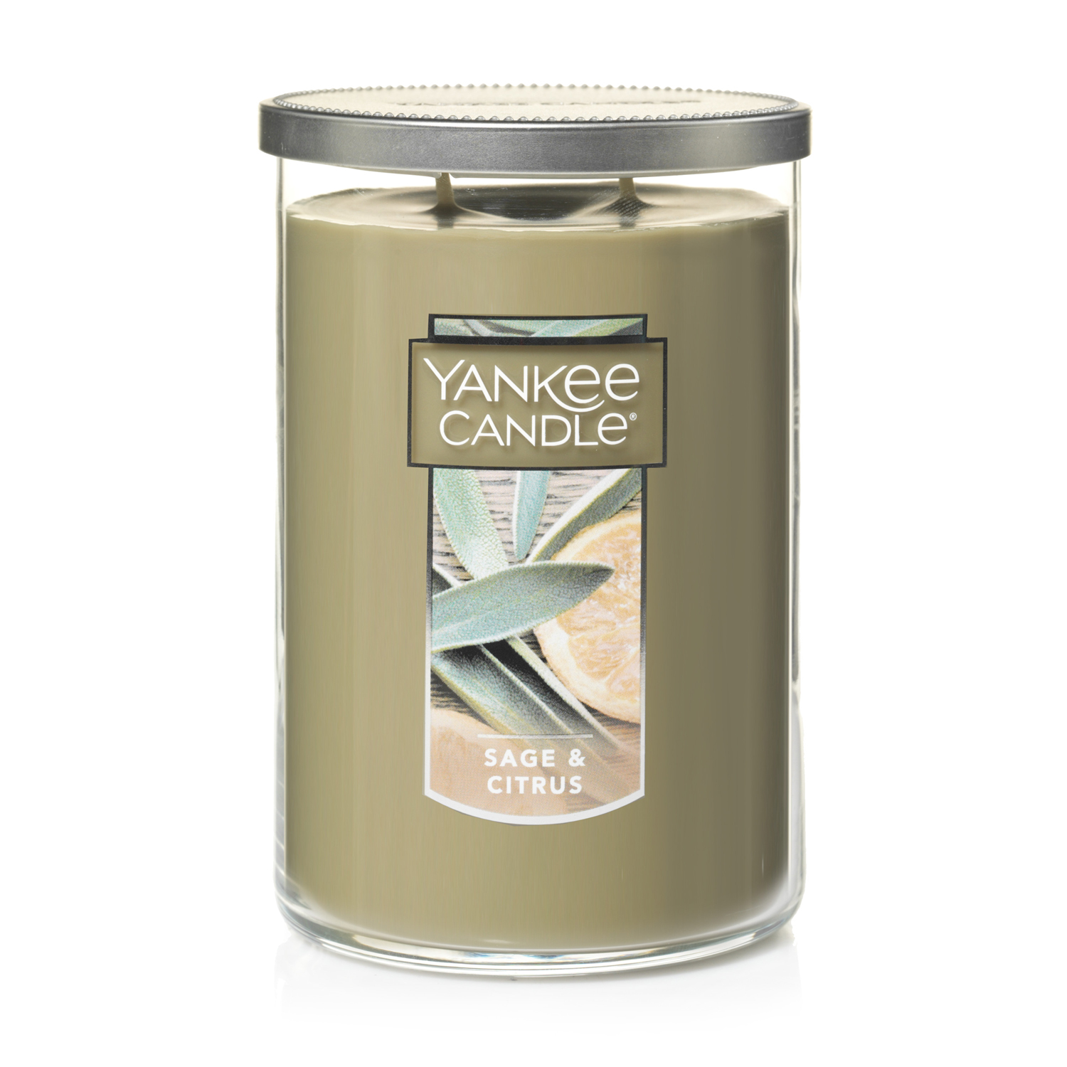 Yankee Candle Large 2-Wick Tumbler Candle, Sage & Citrus