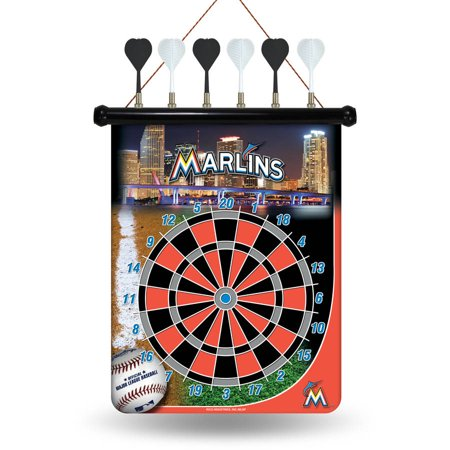 Rico MLB Magnetic Dart Set, Miami Marlins by