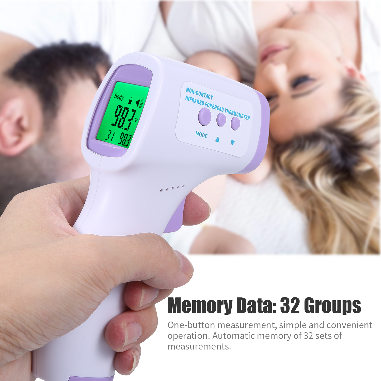 Measuring & Testing Home & Kitchen Infrared Thermometer,Non