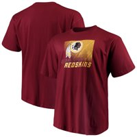 5fb1f6e81 Product Image Men's Majestic Burgundy Washington Redskins Big & Tall  Reflective T-Shirt