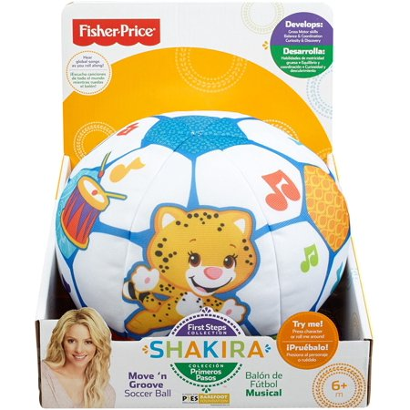 Fisher-Price First Steps Move 'n Groove Soccer Ball …