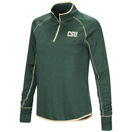 Womens Colorado State Rams Quarter Zip Long Sleeve Shirt - S Colorado State Rams Helmet