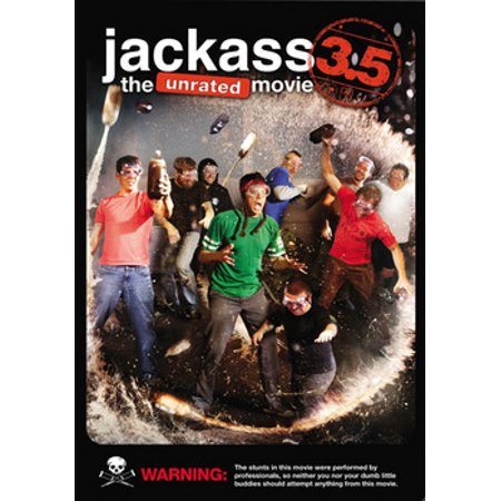 Jackass 3.5: The Unrated Movie (DVD) for $<!---->