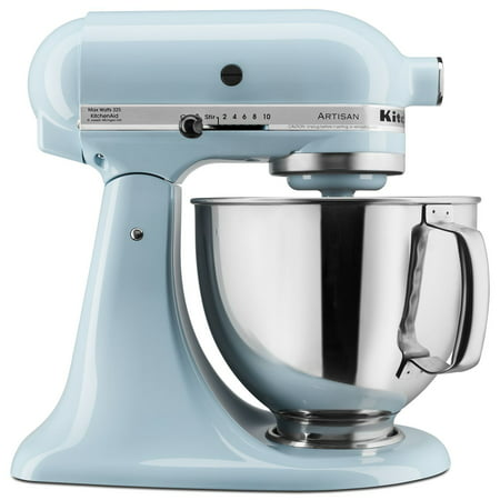 KitchenAid KSM150PSGB Artisan Series 5-Quart Mixer, Glacier Blue