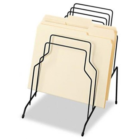- Step File  Eight Sections  Wire  10 1/8 x 12 1/8 x 11 7/8  Black