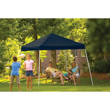 10' x 10' Sport Pop-up Canopy Slant Leg Black Cover