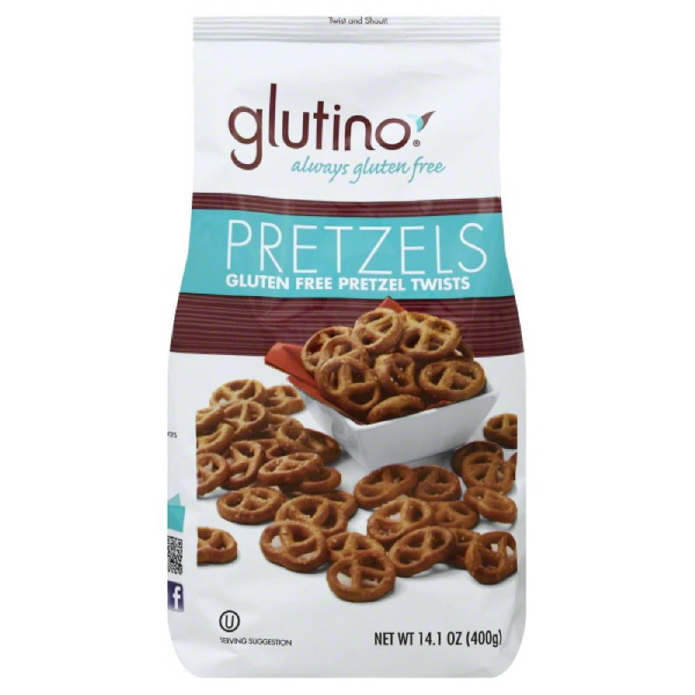 Glutino pretzel family bag wheat free gluten free, 14.1 oz (pack of 12)