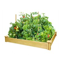 GREENES FENCE CO RCMG4S4B 4x4x5.5 Raised Garden Kit