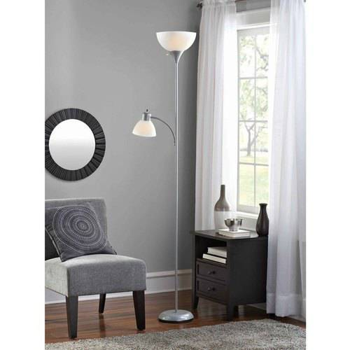Mainstays Combo Floor Lamp with Bulbs Included by DSI