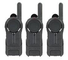 3 Pack of Motorola DLR1020 Business Two Way Radios   Walkie Talkies 900 MHz Digital ISM... by Motorola Solutions