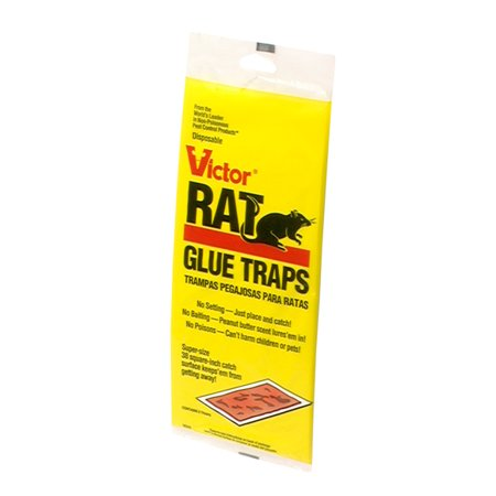 Victor M349 Rat, Mouse, Small Snake and Mouse Glue Board 2 Pack