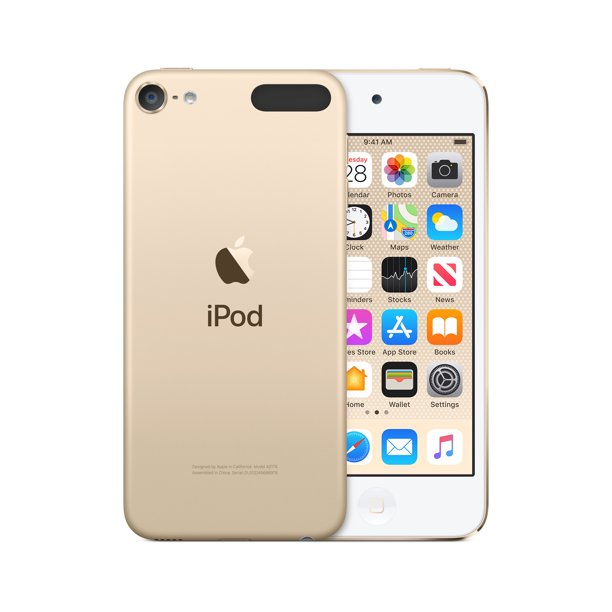 Apple Ipod Touch 7th Generation 128gb Gold New Model Walmart Com Walmart Com