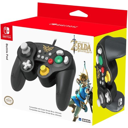 HORI Nintendo Switch Battle Pad GameCube Style Controller Officially Licensed By Nintendo - Zelda Nintendo Wavebird Gamecube Controller